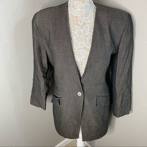 CHRISTIAN DIOR || vintage the suit blazer jacket